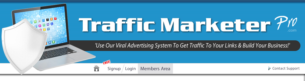 Trafficmarketerpro free traffic exchange free advertising signup free members login malvernweather Images